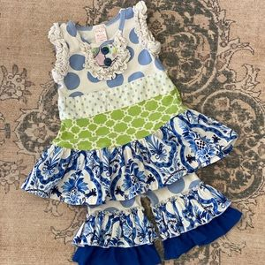 🌟HOST PICK🌟Giggle Moon matching set, 24month